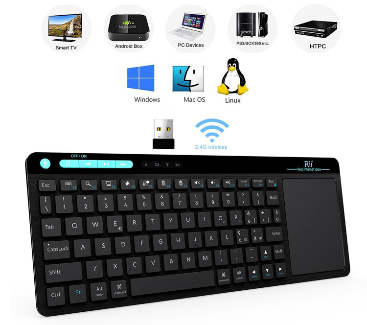 tastatura wireless smart tv